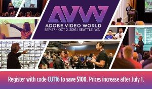 Adobe Video World SEATTLE www.adobevideoworld.com