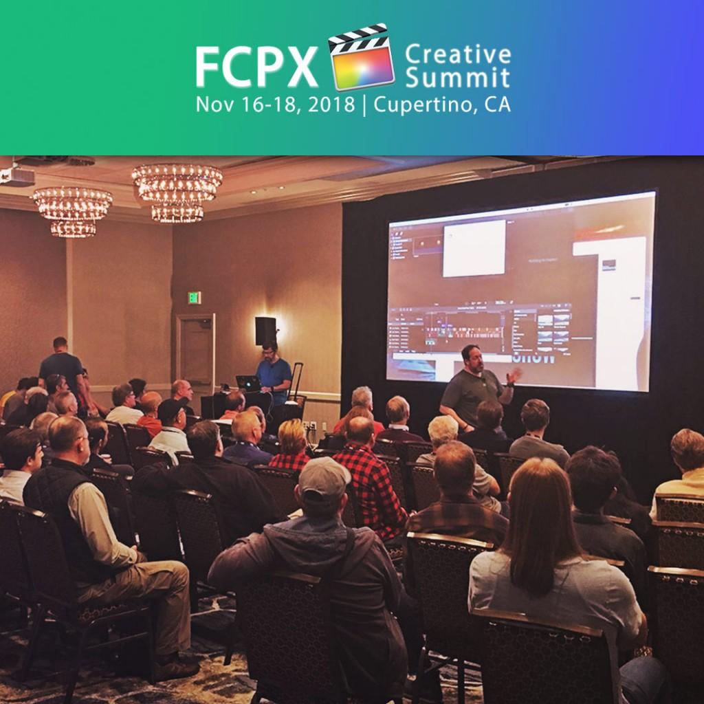 FCPX Creative Summit 2018
